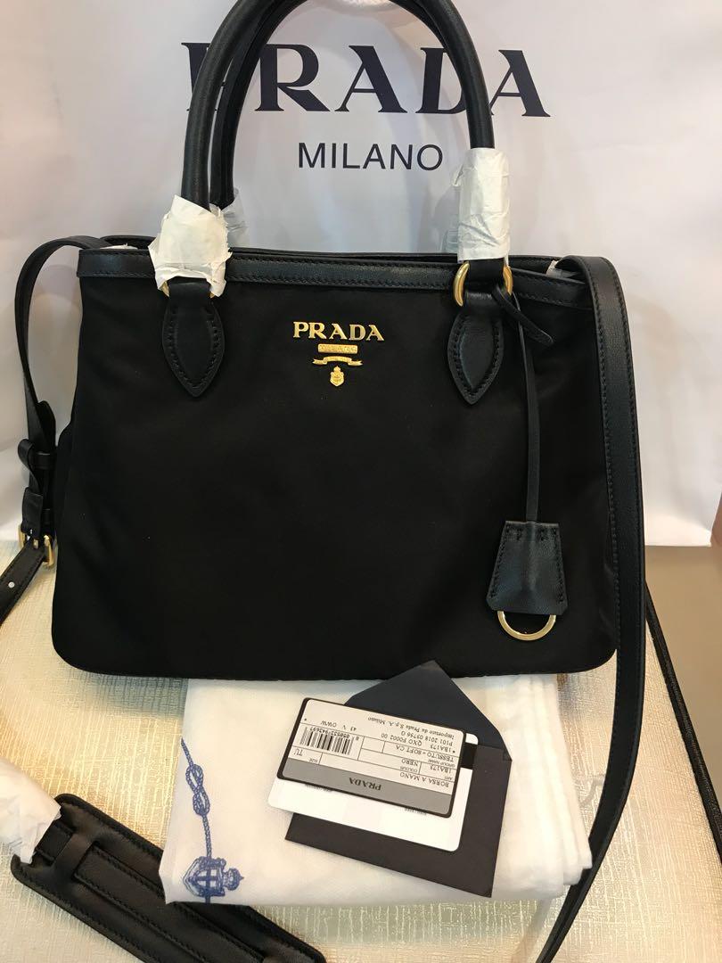 ec424868a4 New original Prada Nylon Bag, Women's Fashion, Bags & Wallets on Carousell