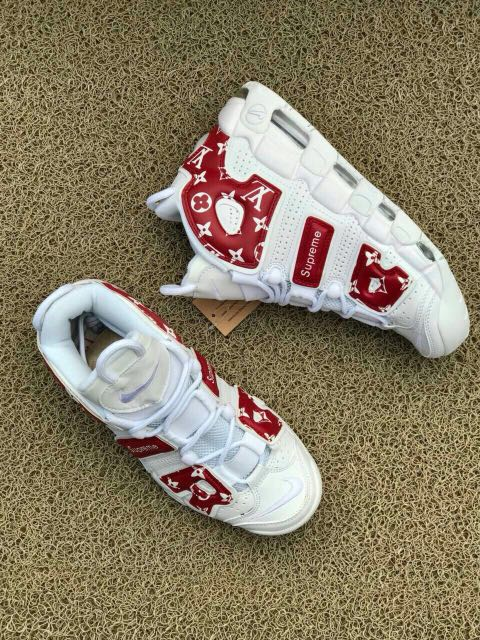 consenso servitore preoccupazione  Nike Air Uptempo White Supreme x LV, Men's Fashion, Footwear, Sneakers on  Carousell