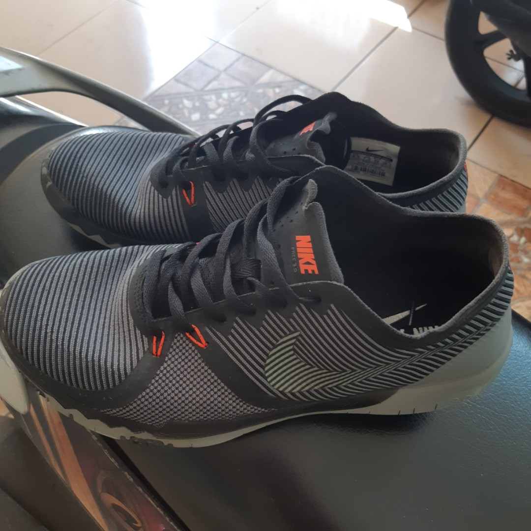 966c20a270c6 ... coupon code nike free trainer 3.0 v4 black cool grey mens fashion mens  footwear on carousell
