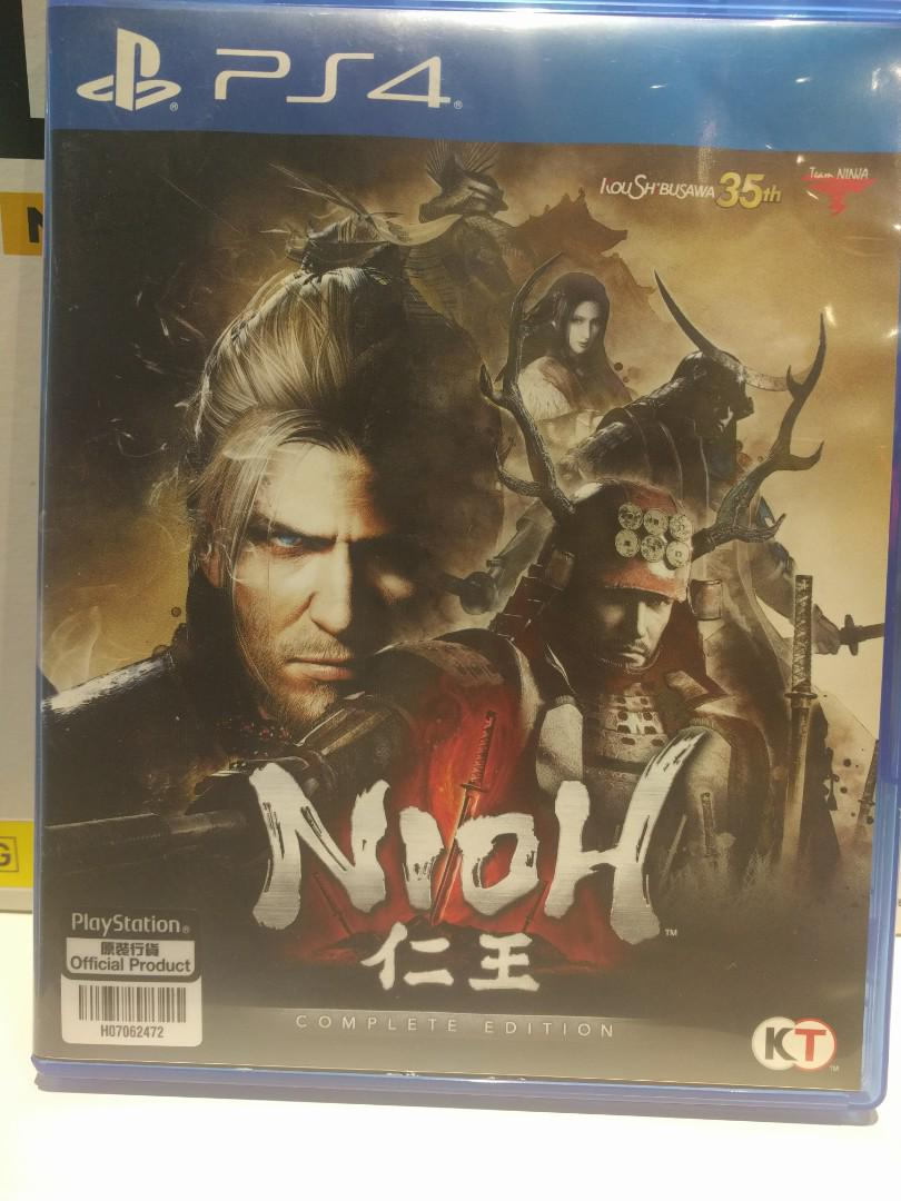 Nioh complete edition, Toys & Games, Video Gaming, Video