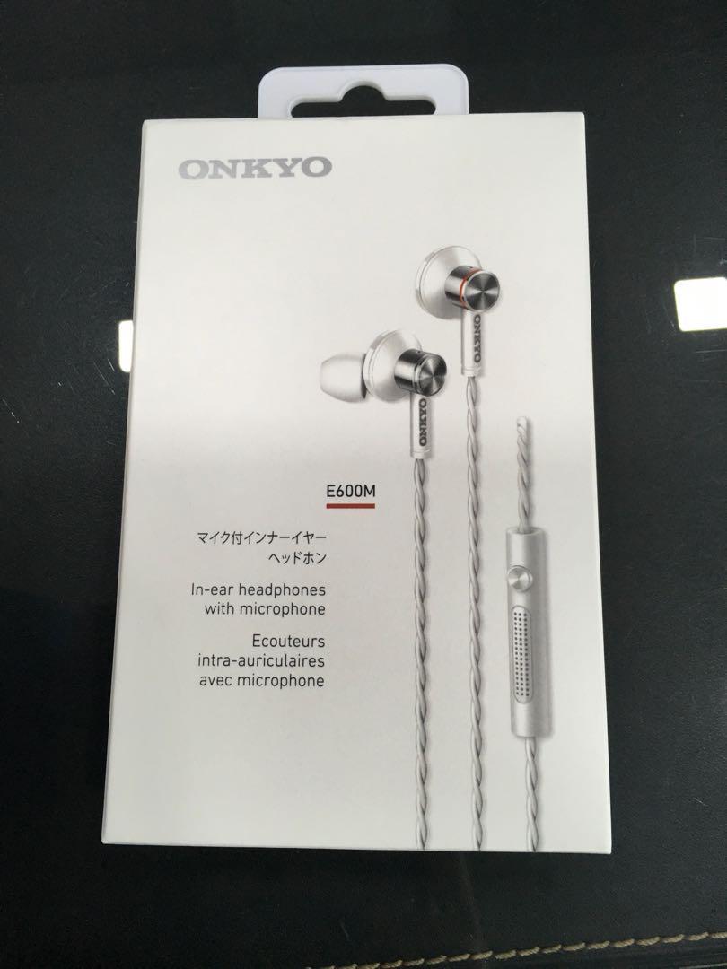 Onkyo E600M Wired Earphones