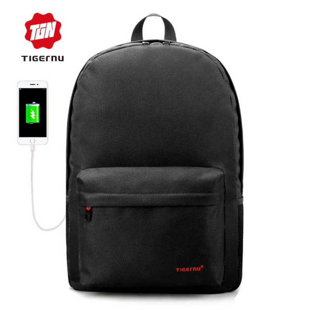 Original Tigernu Tas Ransel Laptop USB Charger WeatherProof - T-B3249 a974324d6d