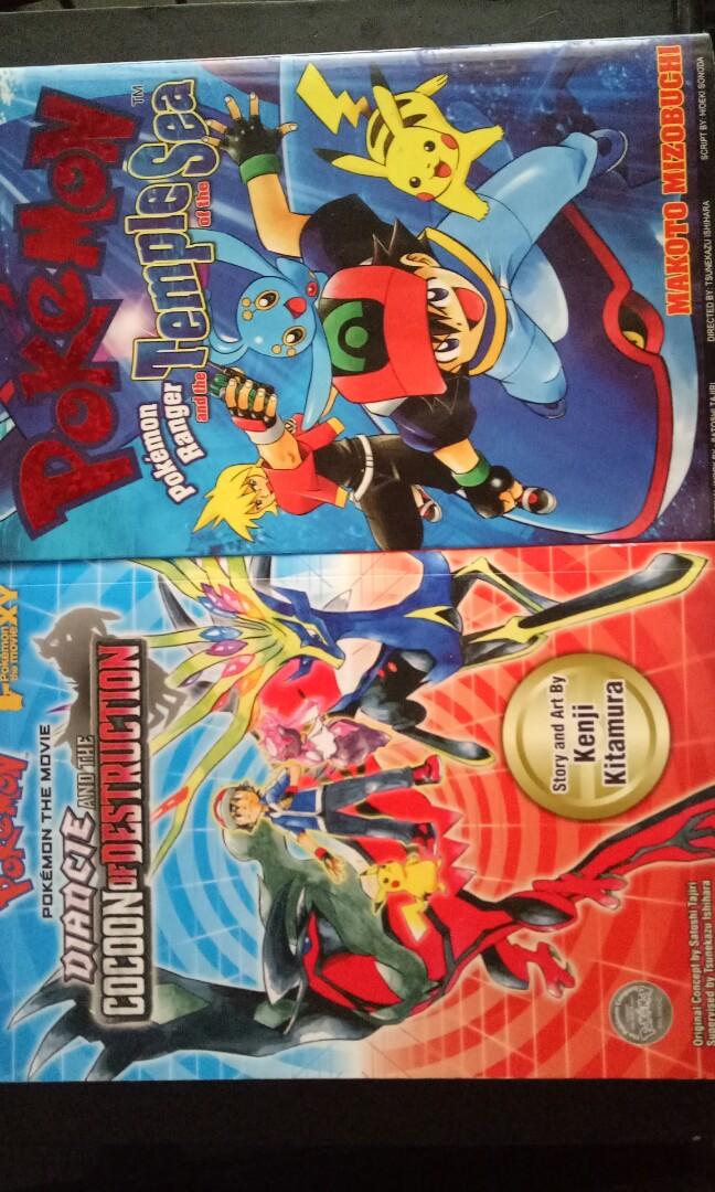 Pokemon Manga Books Stationery Comics Manga On Carousell