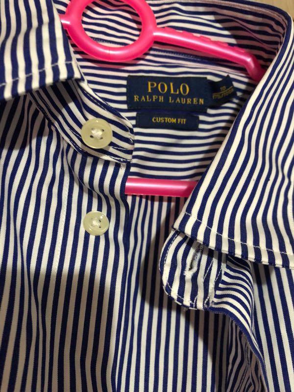 Womens Navy Gingham Shirt