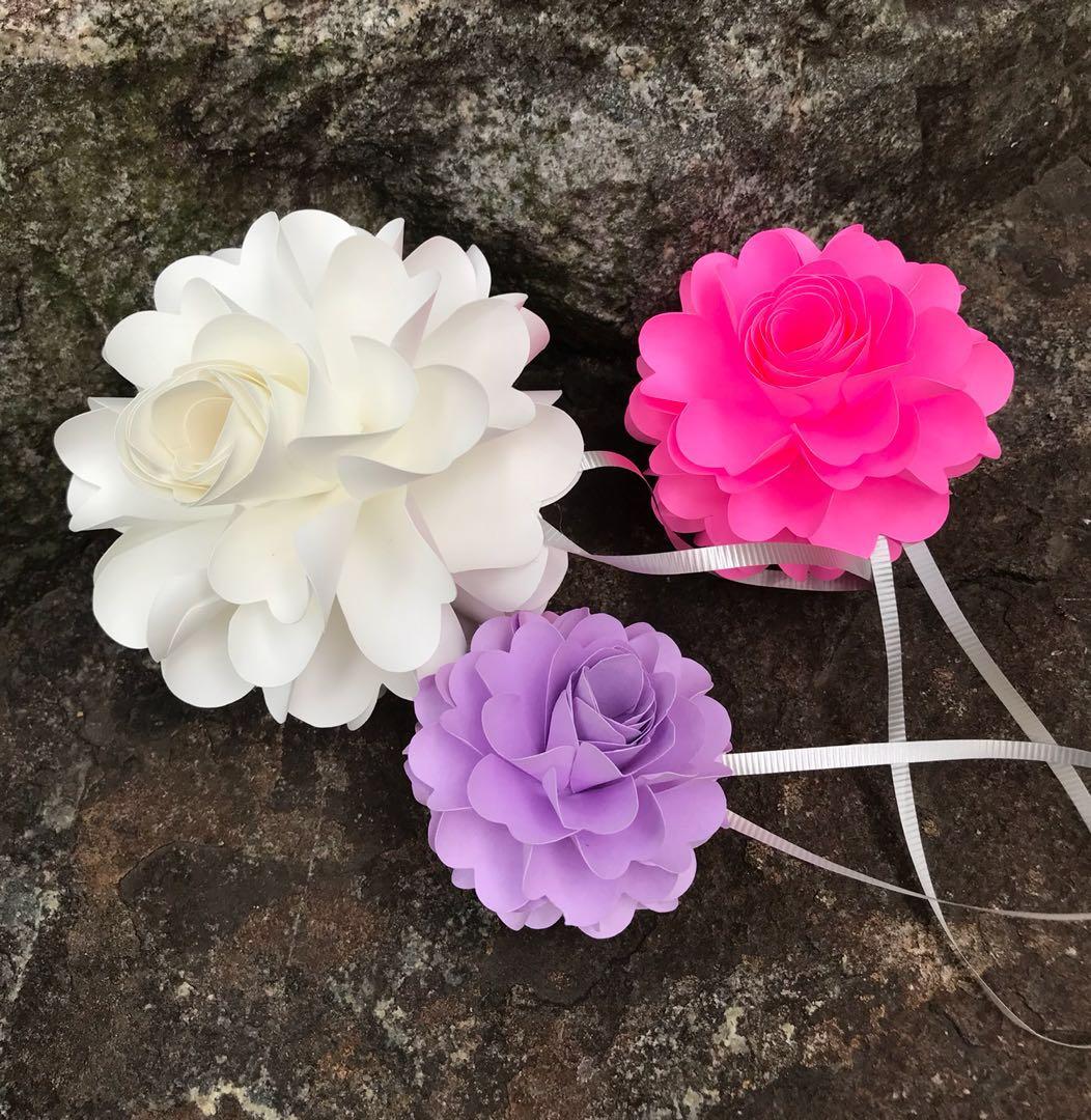 Pomander Paper Flower Balls Design Craft Handmade Craft On Carousell