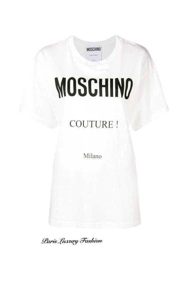 aac8f529 Pre-order | Moschino Lady oversized T shirt, Women's Fashion ...