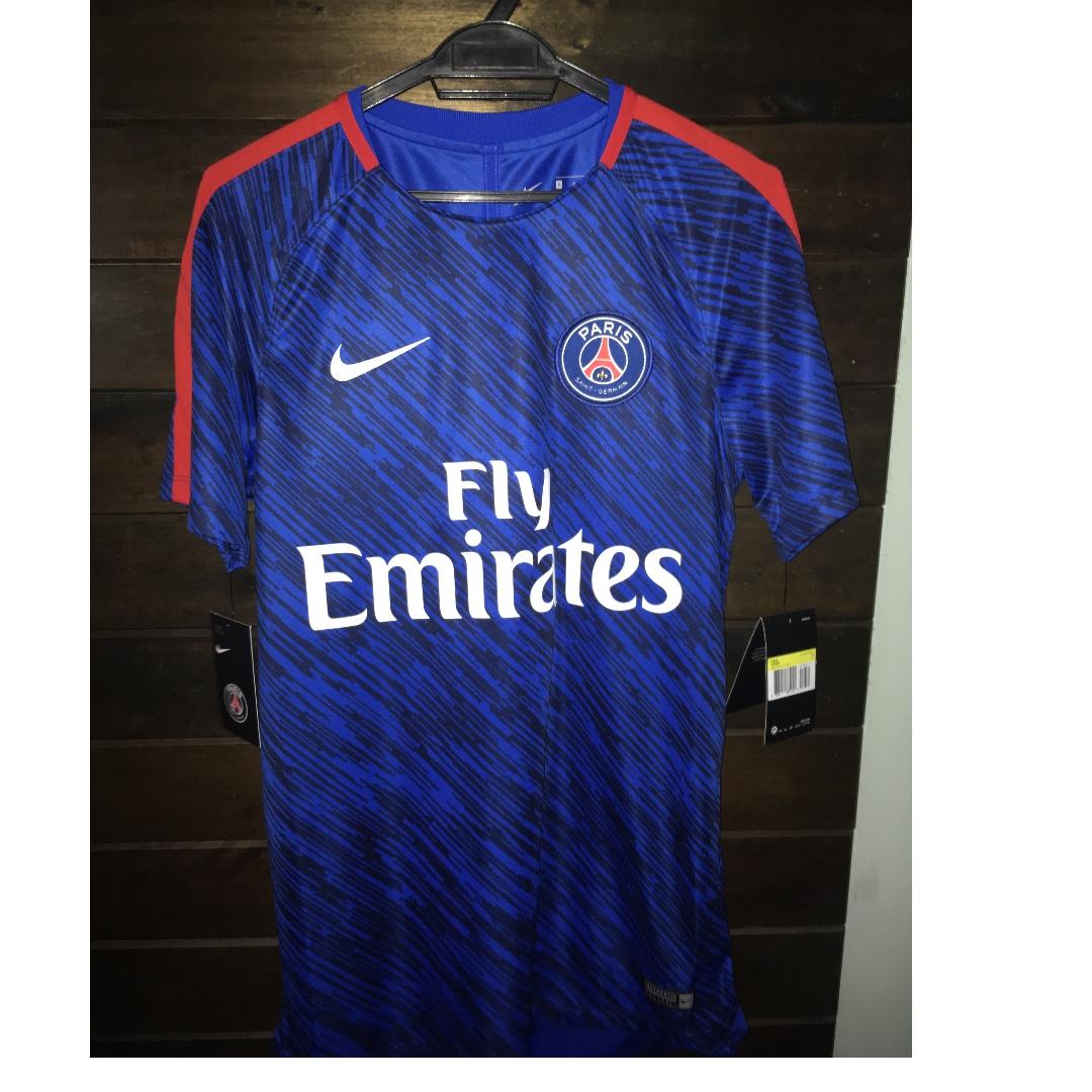 premium selection bdd83 e663c PSG Pre Match Shirt Nike