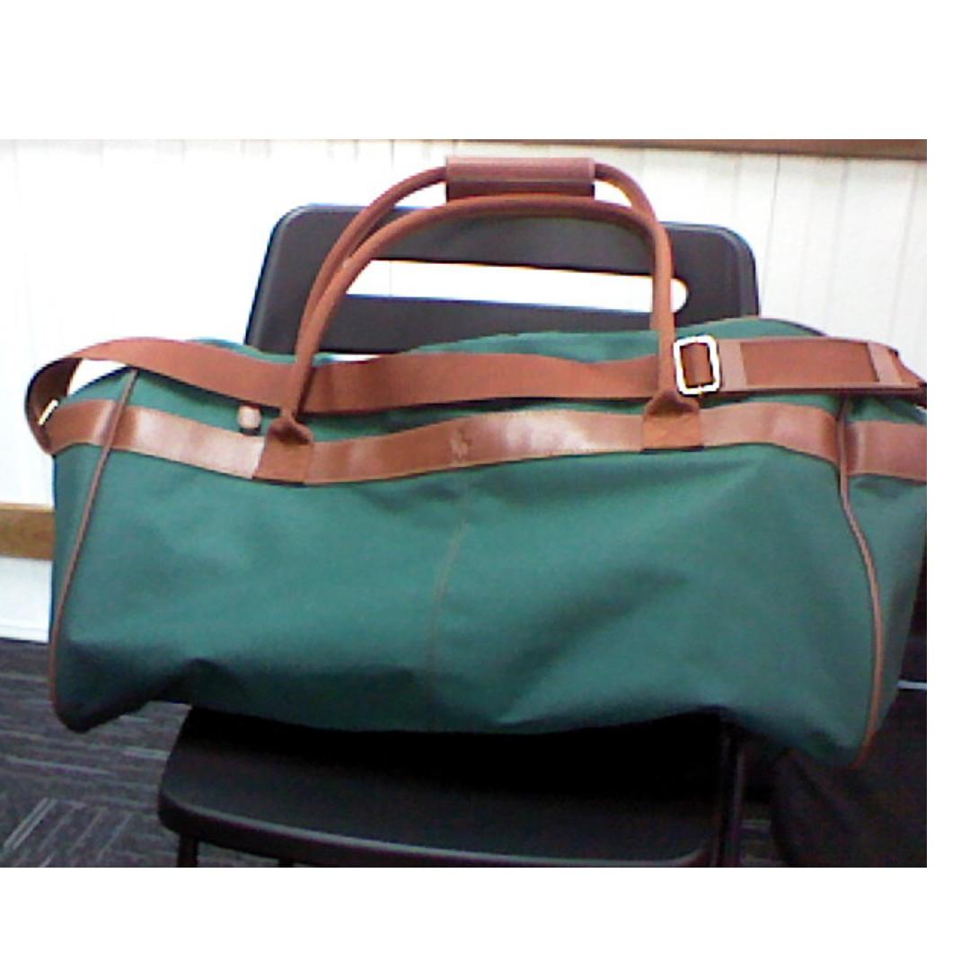 e6e4ac96ad Polo Ralph Lauren Duffle Bag Blue Green