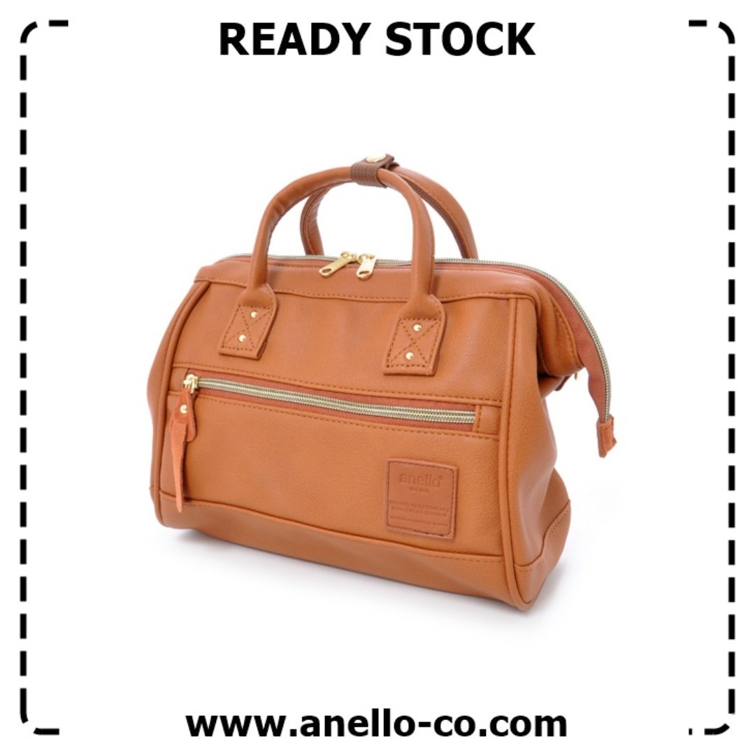 b0c2240fe5 Ready Stock  Authentic Japan Anello Synthetic Leather 2 Way Mini ...
