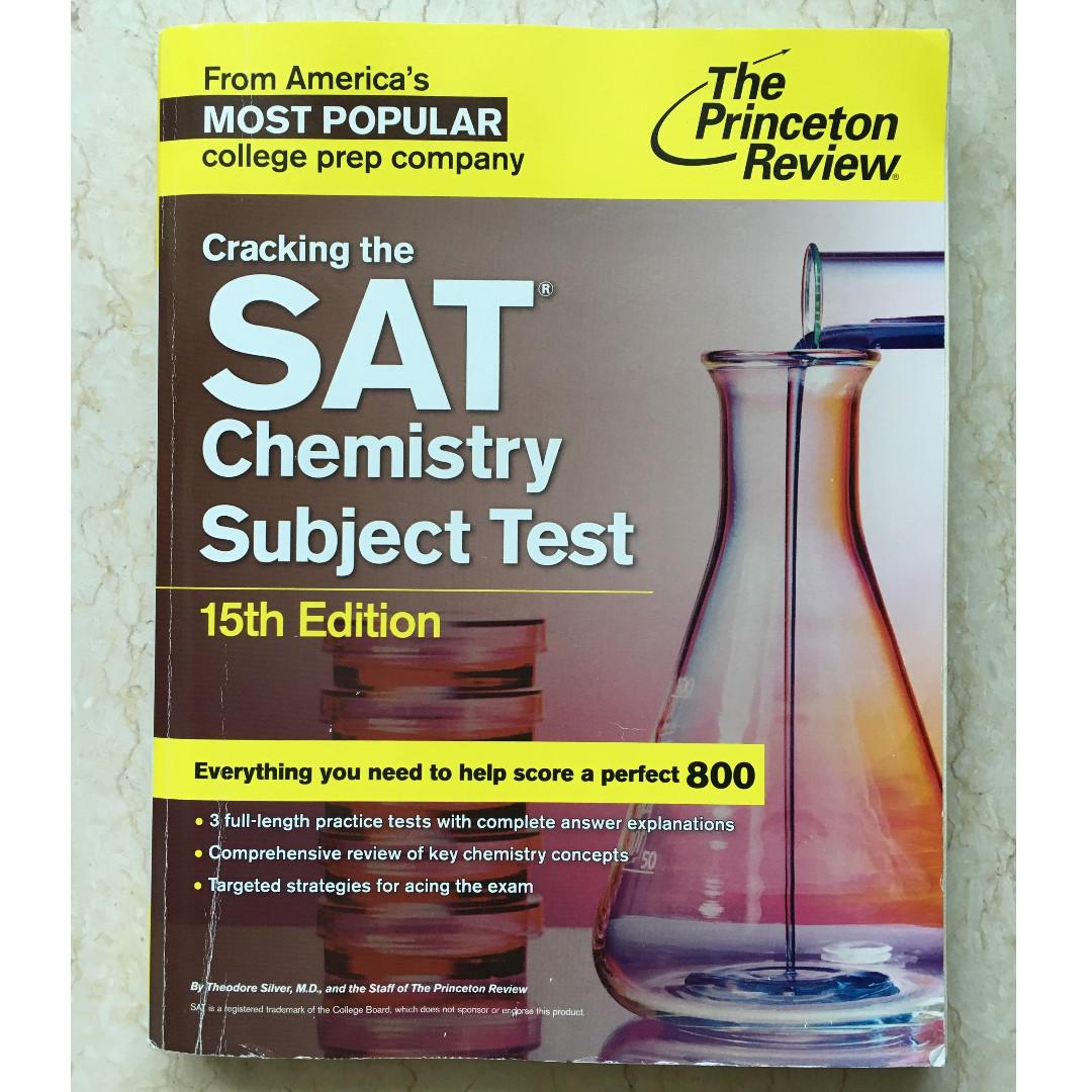 SAT Chemistry Subject Test (Princeton Review)
