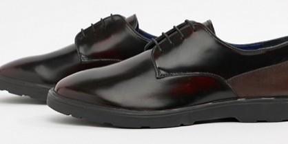 832994b5e309 Silver Street London High Shine Derby Shoes, Men's Fashion, Men's ...