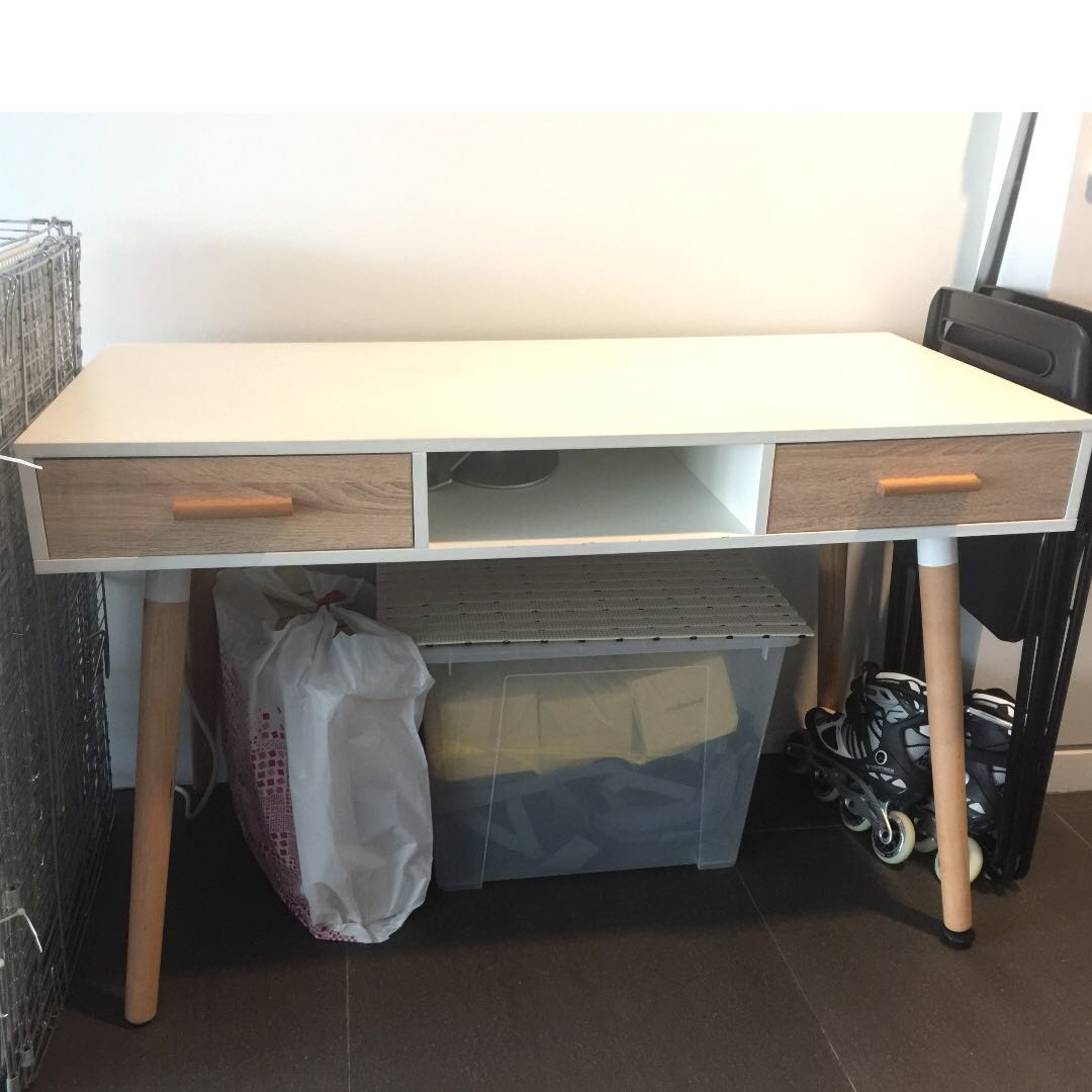 Study Table Letting Go Cheap Furniture Tables Chairs On Carousell