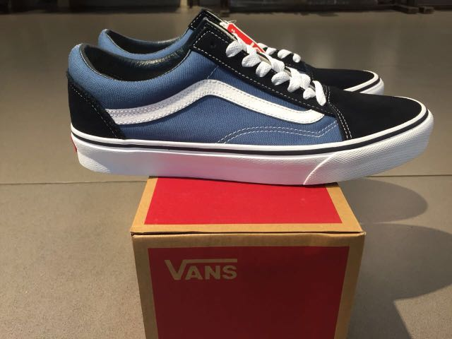 483e4ab696 VANS OLD SKOOL NAVY ORIGINAL