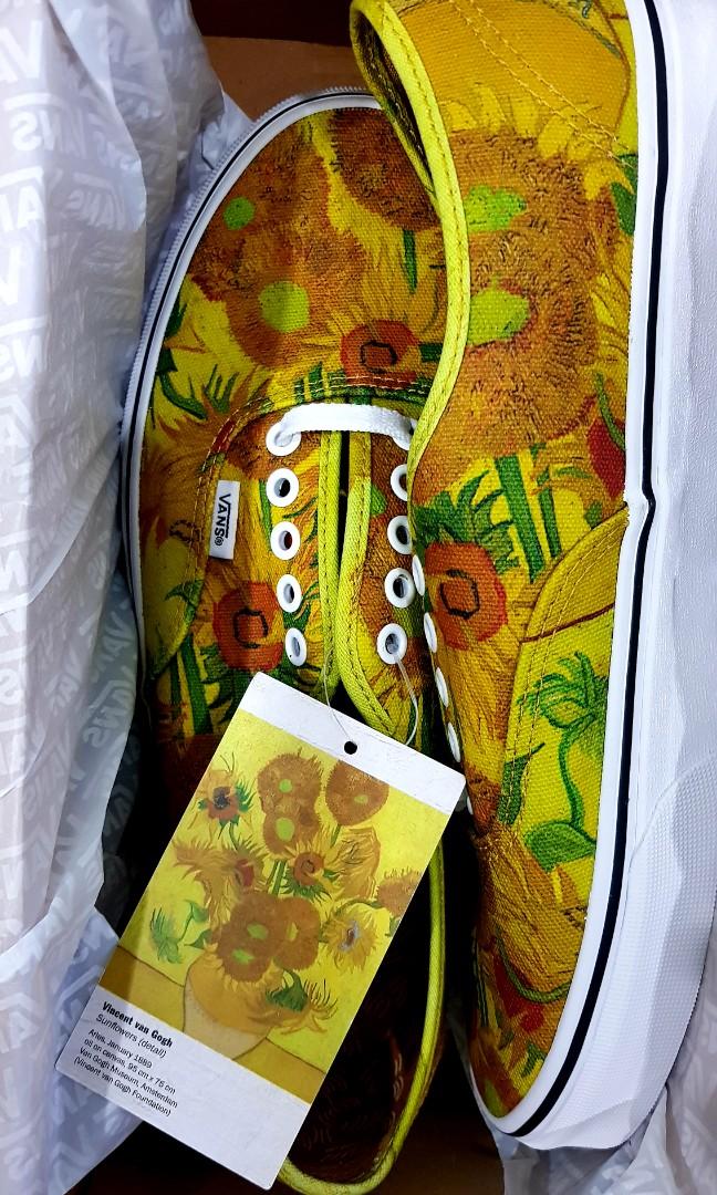 f8e89cf52d1 Vans x Van Gogh Sunflower UK9.5
