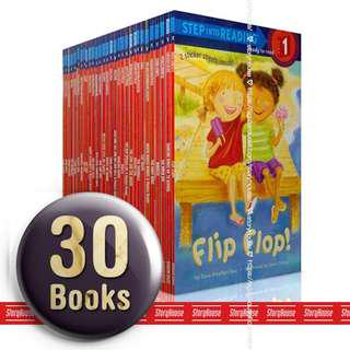 🚚 Step Into Reading Level 1 - 30 Books Collection Boxset Gift  ( All Paperback Books and Brand New )