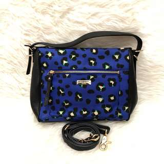 Kate Spade Cobble Hill Blue Cheetah Original