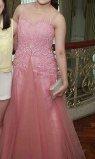 -FOR RENT- Francis Libiran Custom Gown