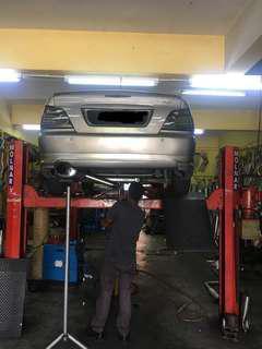 Proton Waja Evo style stainless steel exhaust piping