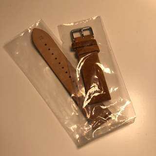 猄皮 錶帶 22mm
