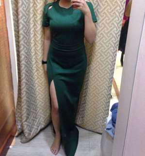 EMERALD GREEN Dress from Apartment8 Clothing - LARGE (Fits M-L)