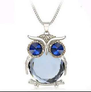 Aksesoris Perhiasan Wanita Kalung Burung Hantu / Owl Necklace