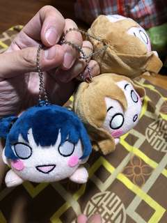School Idol Project Plush Keychain