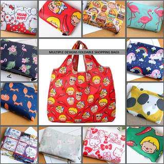 🚚 Multiple Designs: Foldable Shopping Bag | Tote Bag | Teacher's Day Gift
