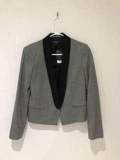 ORIGINALLY $130 - Topshop Cropped Tweed Blazer