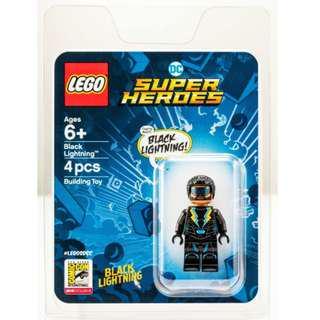 LEGO SDCC 2018 Exclusive DC Super Heroes Black Lightning