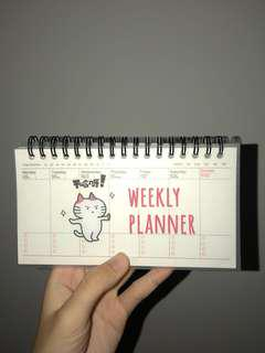 ulzzang weekly planner