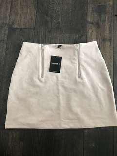 BNWT suede skirt