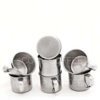 Cangkir Mug Kopi Teh Coffee Teh Stainless Steel