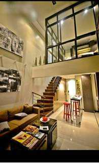 Own a Loft Type Condo for 1.6Million Pesos Only Fully Furnished & Ready for Occupancy #09239708448