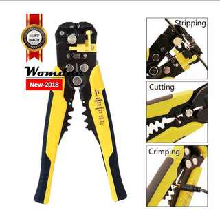 Wire Stripping Tool Self-adjusting Cable Cutter Crimper Automatic Wire Stripper/ Cutting Pliers Tool