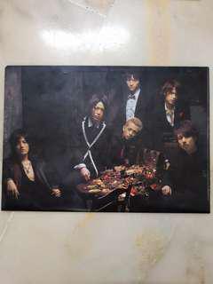 KAT-TUN Queen of Pirates 2008 Concert A4 Folder File