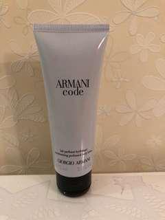 Giorgio Armani body lotion