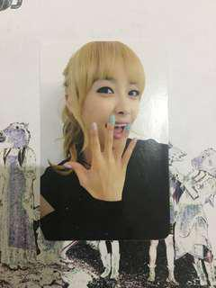 F(X) Victoria Official Photo Card