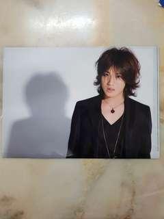 Jin Akanishi KAT-TUN 2009 Tour A4 Folder File