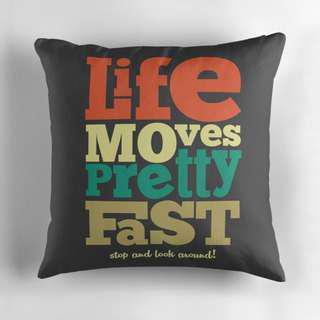 🚚 Typographic Decorative Designed Pillow