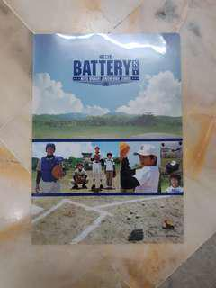 Kento Hayashi The Battery Official Merchandise A4 File Folder