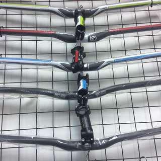 Carbon fiber handlebar 31.8mm