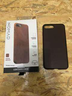 Nomad leather case iphone 7 plus (7+) / 8 plus (8+)