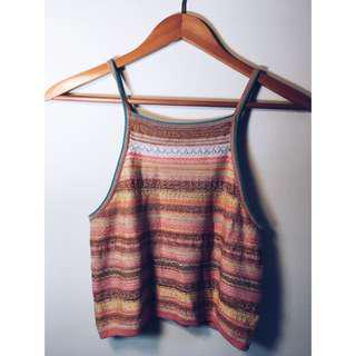 70s Style Crop Top