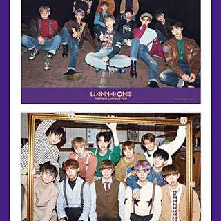 [CLEARANCE SALE] WANNAONE NOTHING WITHOUT YOU POSTERS