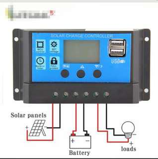 10A Solar Charger Controller Solar Panel Battery Intelligent Regulator With USB