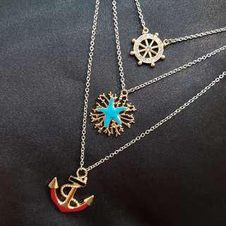 Anchor necklace cute necklace