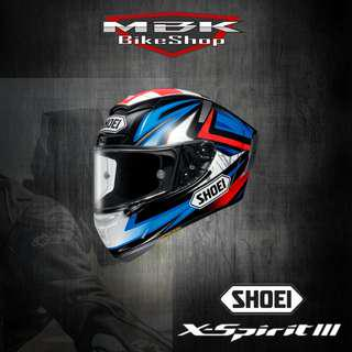 SHOEI XSPIRIT III BRADLEY