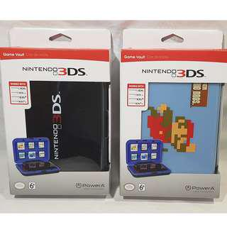 YOUR CHOICE: NINTENDO 3DS, 3DS XL, DS & DS XL GAME VAULT PROTECTOR CASE