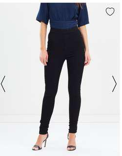 High Waist Jeggings from The Iconic RRP $45