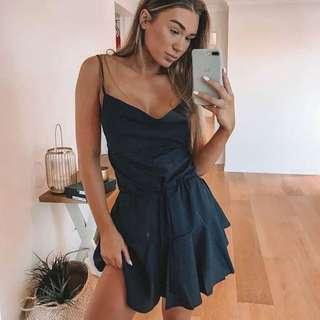 🌹 Beginning Boutique Starting Something Dress Midnight